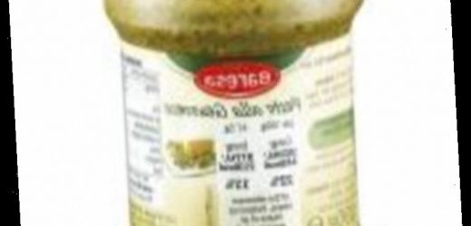 Lidl recalls pesto sauce over fears it could trigger allergic reactions
