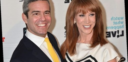 'The Wendy Williams Show': Kathy Griffin Shares She Still Hasn't Made up with Andy Cohen and Anderson Cooper