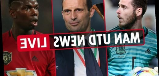 7am Man Utd news LIVE: De Gea and Pogba out, Mourinho wanted at Tottenham, Allegri 'close' to taking over – The Sun