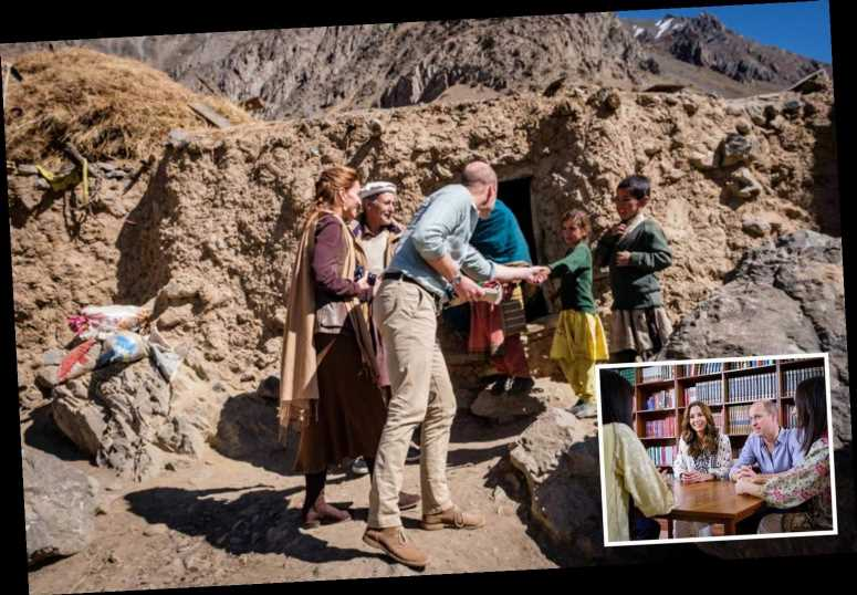 Kate Middleton posts on Instagram for first time as she and Wills join family for tea after meeting on road in Pakistan – The Sun