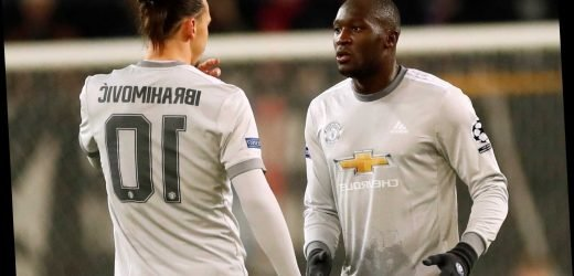 Zlatan reveals Man Utd pal Lukaku refused to have £50 bet on his first touch as he jokes about Inter star's technique – The Sun