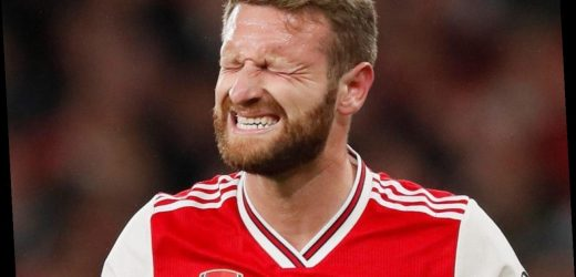 Mustafi has 'little hope' of staying at Arsenal after failing to win over fans who blamed him even when he didn't play – The Sun