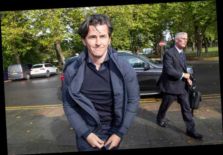 Joey Barton arrives at court accused of attacking rival football manager in tunnel – The Sun