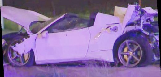 World champion boxer Errol Spence Jr in intensive care after flipping Ferrari 'multiple times' and being thrown from car in horror high-speed crash in Dallas – The Sun