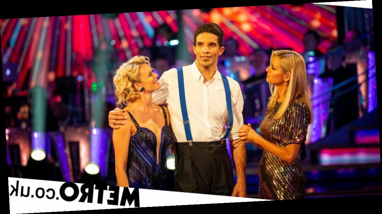 Strictly Come Dancing's David James becomes fourth celebrity to be evicted