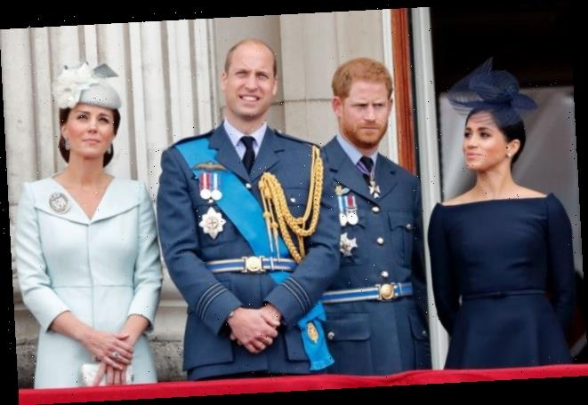 How Prince William and Prince Harry Made History By Reuniting With Kate Middleton and Meghan Markle