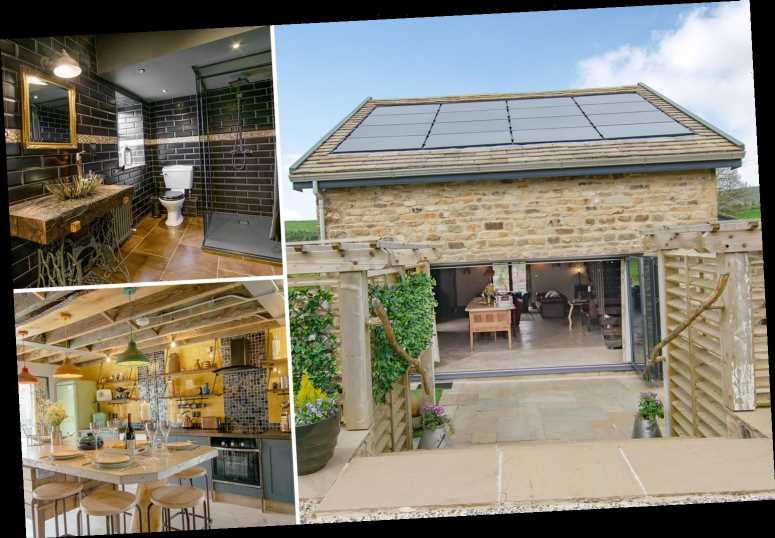 Couple transform £200k derelict barn into £350k eco holiday home and rent it out for £50k a year – The Sun