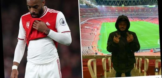 Lacazette 'likes Instagram post' telling Arsenal boss Emery and Xhaka to 'f*** themselves' in wake of Palace draw – The Sun