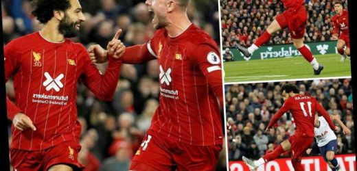 Liverpool 2 Spurs 1: Mo Salah penalty completes turnaround for Premier League leaders at Anfield – The Sun