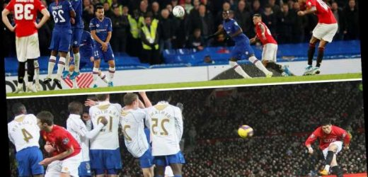 Watch Rashford's stunning free-kick at Chelsea and Ronaldo's wondergoal against Portsmouth… but which is better? – The Sun