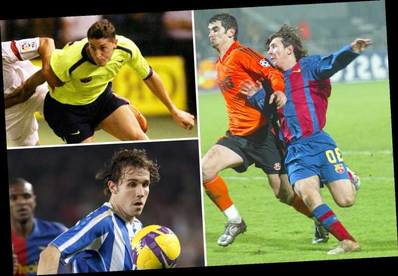 What happened to four Barcelona kids who made debuts alongside Lionel Messi – The Sun