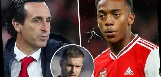 Joe Willock can fill the void left by Aaron Ramsey, says Arsenal boss Unai Emery – The Sun
