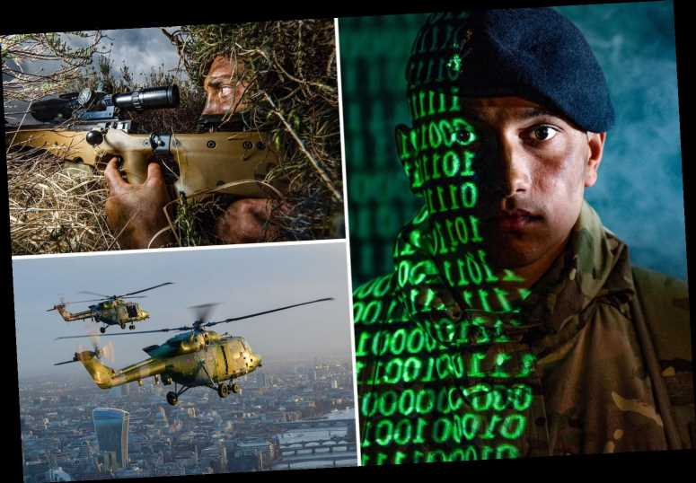 Incredible photos offer behind-the-scenes insight into the lives of British Army troops – The Sun