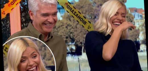 Holly Willoughby and Phillip Schofield forced to apologise to This Morning fans for laughing so much they couldn't speak – The Sun