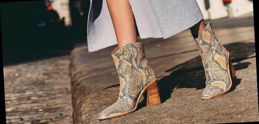 Everyone Will Be Wearing Western Boots For Fall 2019, So Grab One of These 22 Pairs Now