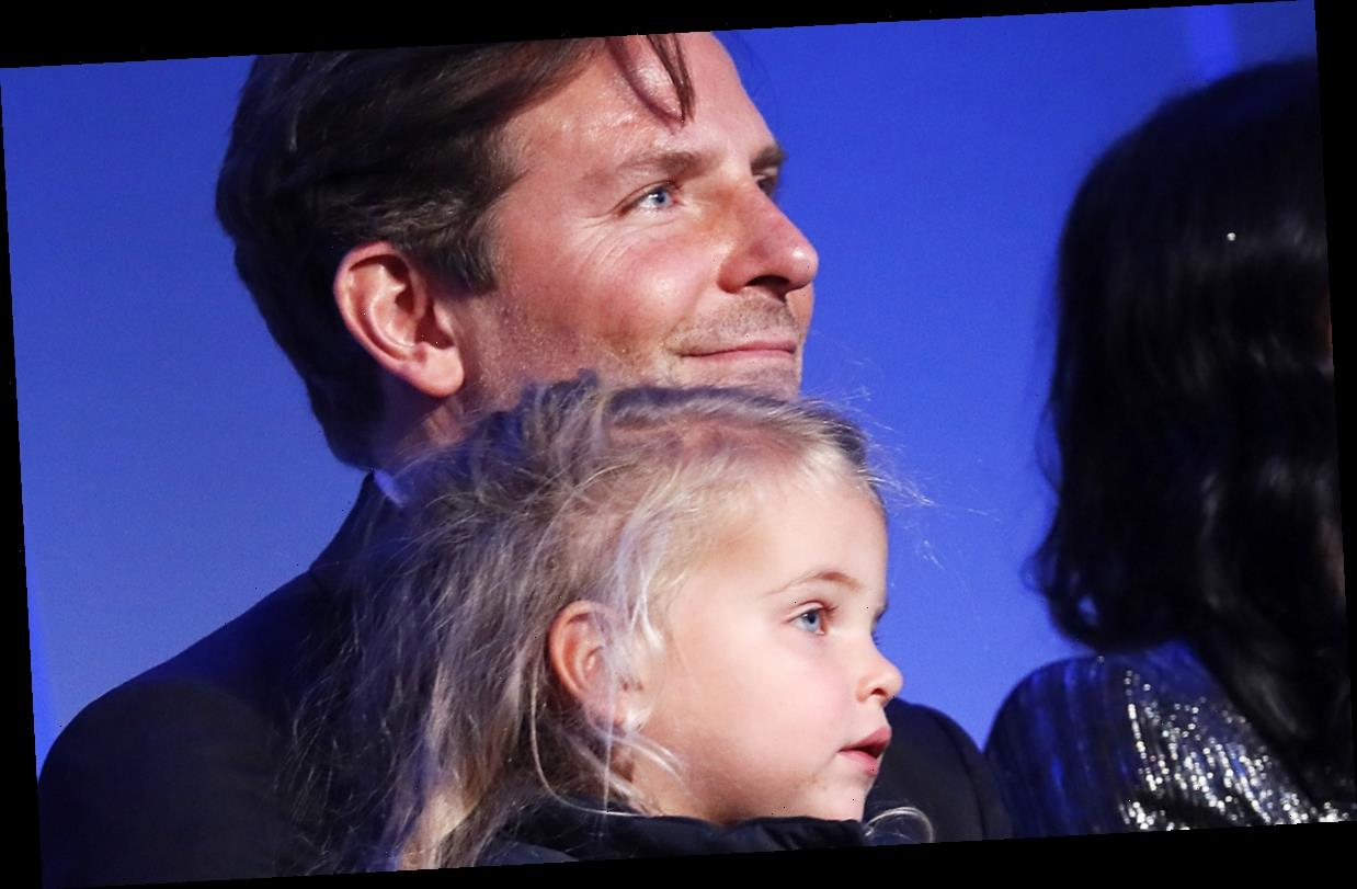 Bradley Cooper Brings Daughter Lea, 2, to Kennedy Center Event!