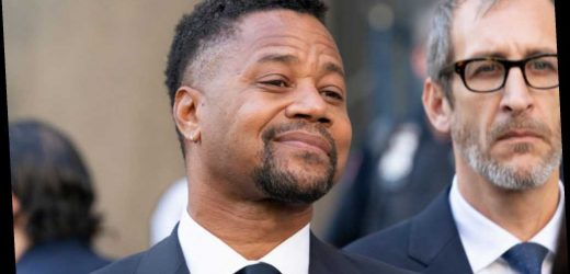 Cuba Gooding Jr. resolutely parties on in face of indictment