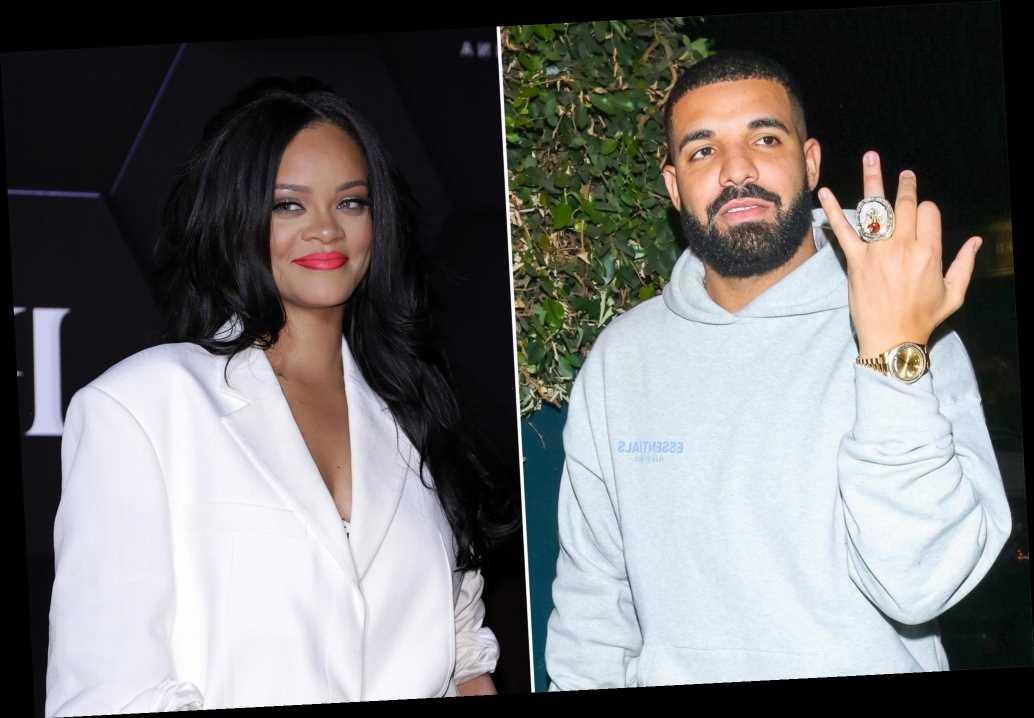 Rihanna and Drake reunite at rapper's birthday celebration