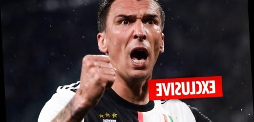 Man Utd transfer boost as Mario Mandzukic slashes £300,000-a-week wage demands in half to seal £10m move from Juventus – The Sun