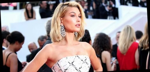 Hailey Bieber Wore Custom Vera Wang—and Sneakers—to Her Wedding After Party