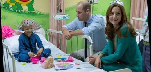 Kate Middleton dons tiara for special tea with young cancer patient in Pakistan