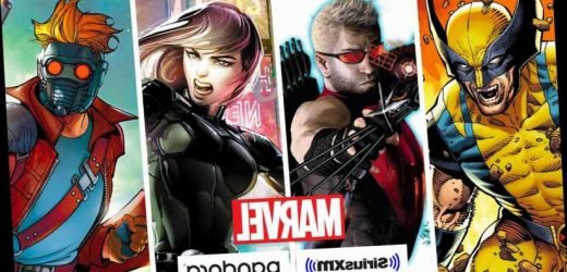 Marvel podcasts on SiriusXM to launch Wolverine, Black Widow, Hawkeye series