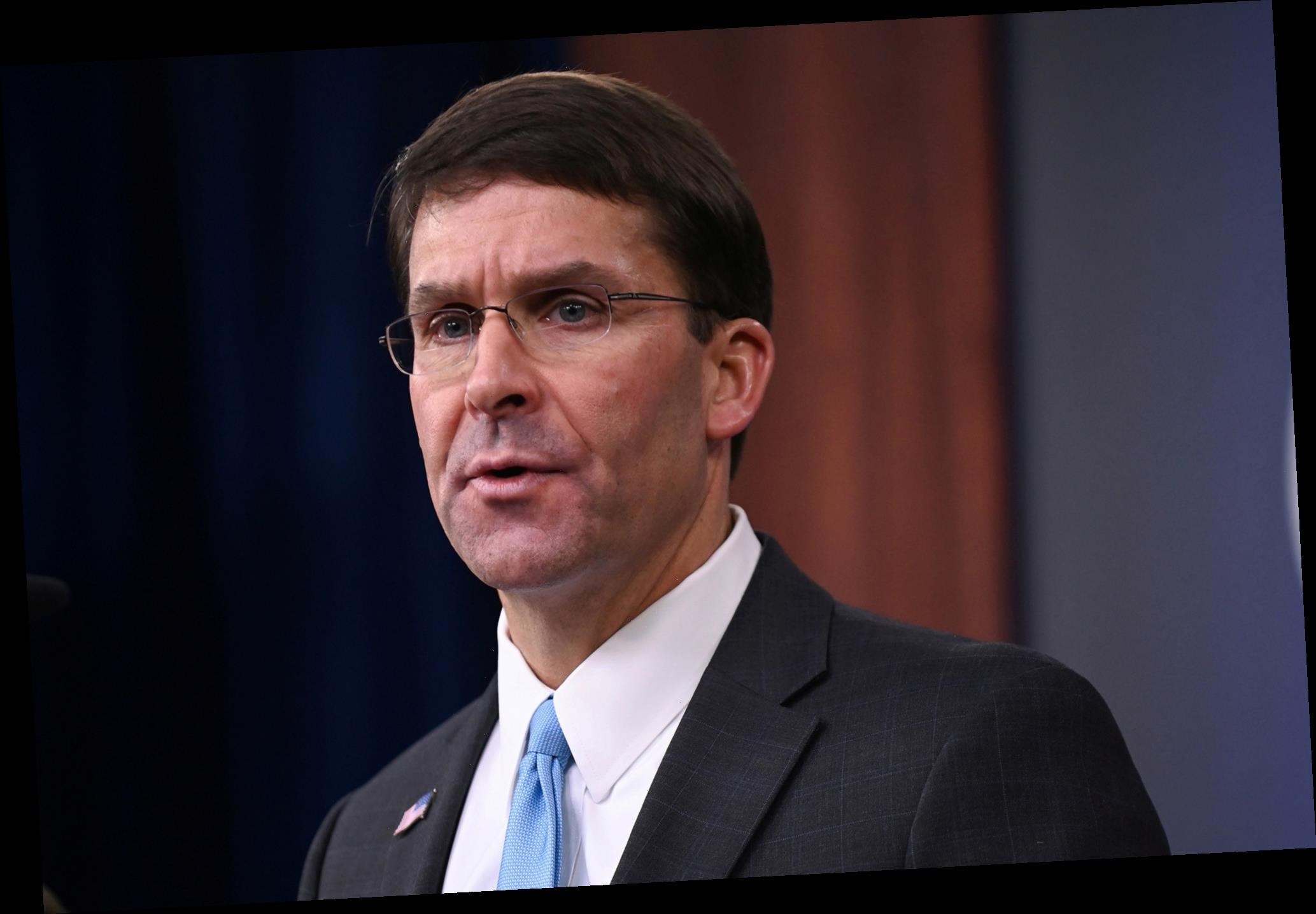 Defense Secretary Mark Esper says small US force may remain in Syria to curb ISIS activity
