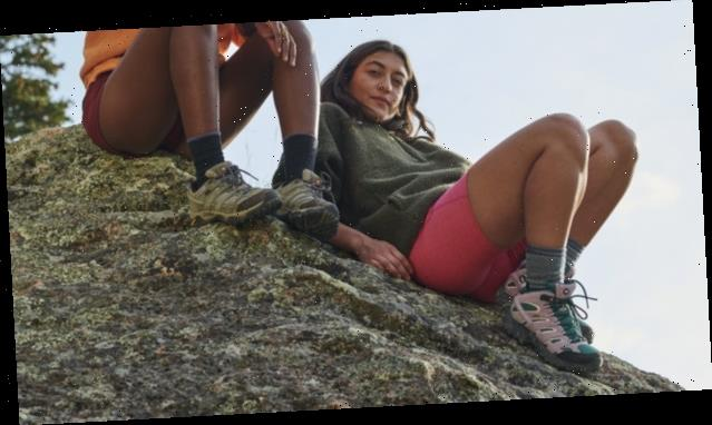 Outdoor Voices Teamed Up With the Ultimate Hiking Boot Brand to Keep Your Feet Warm This Winter