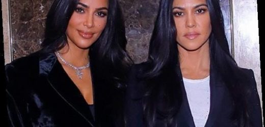 Kim Kardashian and Sister Kourtney Suit Up to Meet With the Armenian President