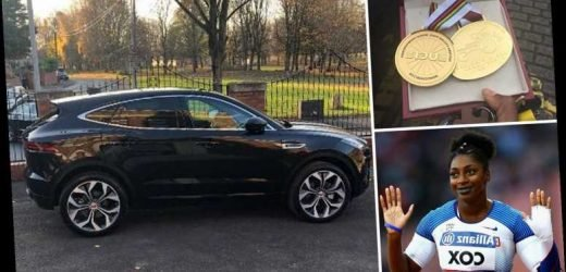Double Paralympic champ Kadeena Cox has £30k Jaguar stolen after thieves break into her house while she sleeps – The Sun