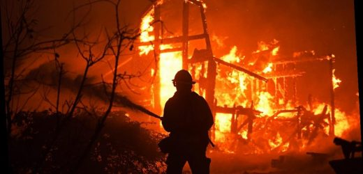 Fires spread amid power outages in Northern California