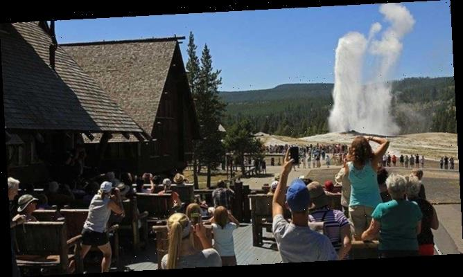 Tourist falls near Old Faithful Geyser, suffers severe thermal burns