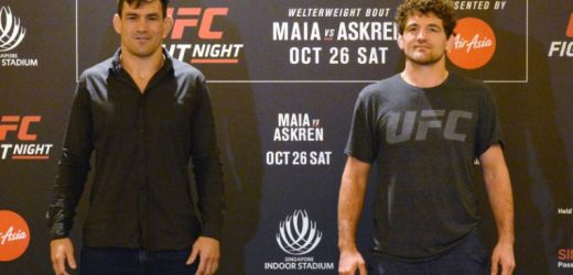 MMA: Maia tops Askren in grappling UFC fight