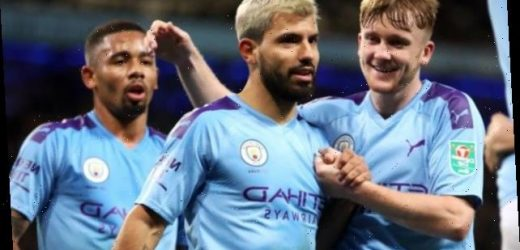 Man City 3-1 Southampton: Sergio Aguero scores twice to put City into Carabao Cup quarters