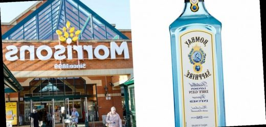 Morrisons slash the price of litre bottles of Bombay Sapphire gin in drinks deal