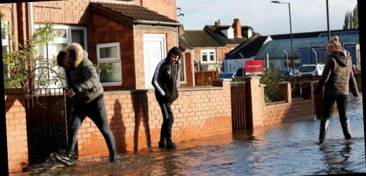 Up to 400 homes evacuated and 100 residents rescued after 'biblical' flooding