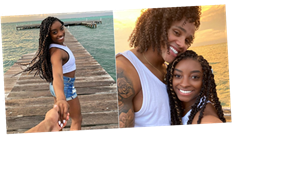 Simone Biles and Stacey Ervin Jr.'s Cute Vacation Pics Are Making Us Belize in Love All Over Again