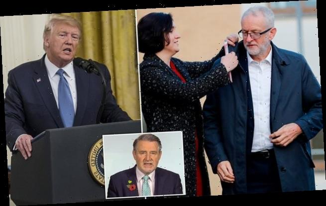Corbyn 'would SNUB Trump by refusing to visit US for a YEAR if PM'