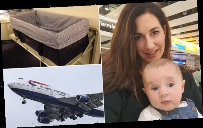 Mother slams British Airways after she's advised to keep baby on FLOOR
