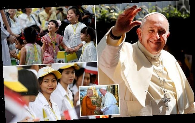 Pope calls for protection for children from sex abuse on Thai visit