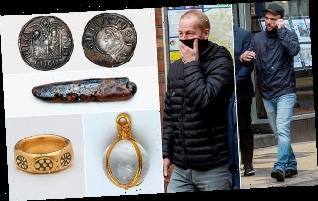 Detectorists found guilty of stealing £3million hoard of Viking coins