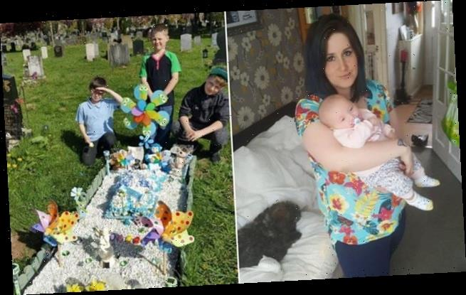 Grieving mother says her new baby girl is 'gift' from her late son