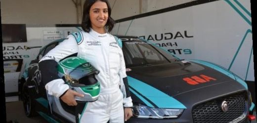 Female Saudi racing driver prepares to compete at home for first time