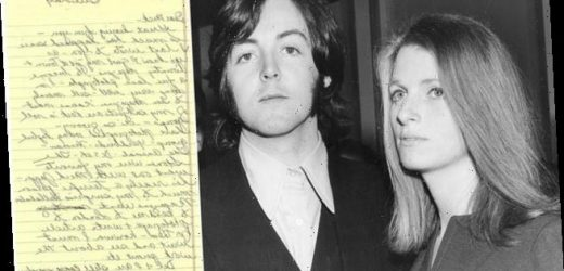 Never-before-seen letters by Linda McCartney go up for auction