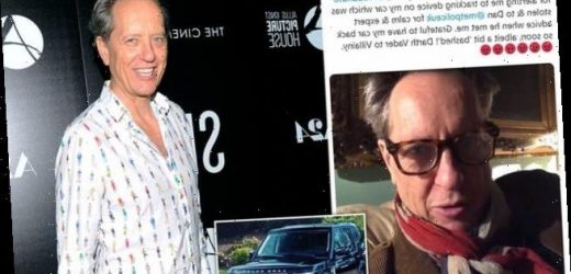 Richard E Grant reunited with stolen Land Rover with help from Twitter