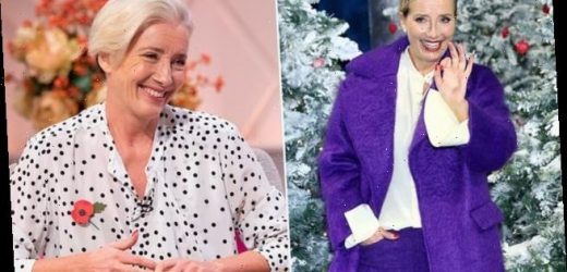Emma Thompson reveals her top tips on surviving the Christmas season