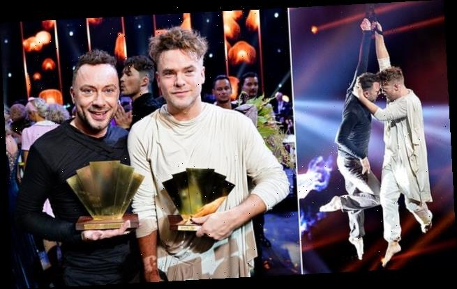 First ever male couple on Denmark version of Strictly Come Dancing win
