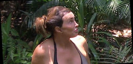 Caitlyn Jenner, 70, stuns in black bikini as she showers in celebrity jungle