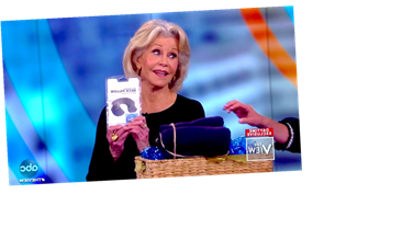 'The View' Gives Jane Fonda A Care Package For Next Time She Goes To Jail
