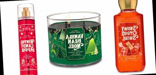 Ho Ho Holy Smokes, Bath & Body Works Just Released All of Its Holiday Products